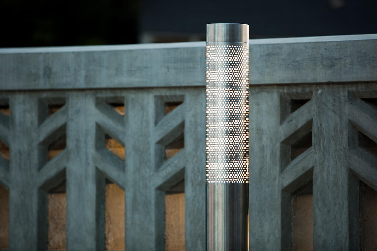 Light Column Bollard Outdoor Forms Surfaces