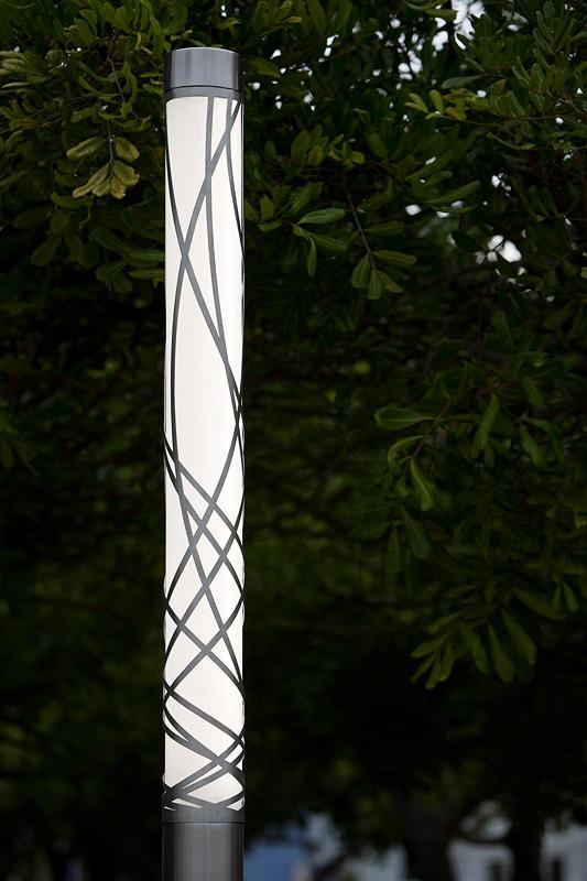 Light Column Pedestrian Lighting Outdoor Forms Surfaces