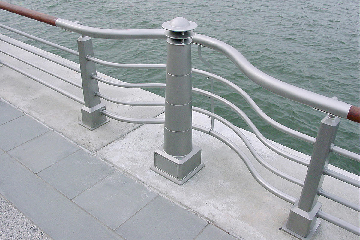 Lighthouse Bollard Outdoor Forms Surfaces