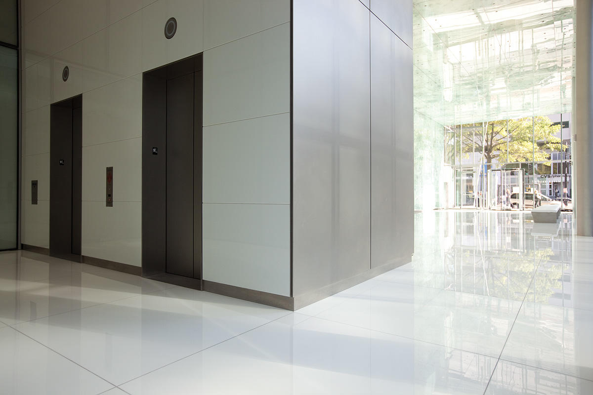 Fused Metal Elevator Doors Architectural Forms Surfaces