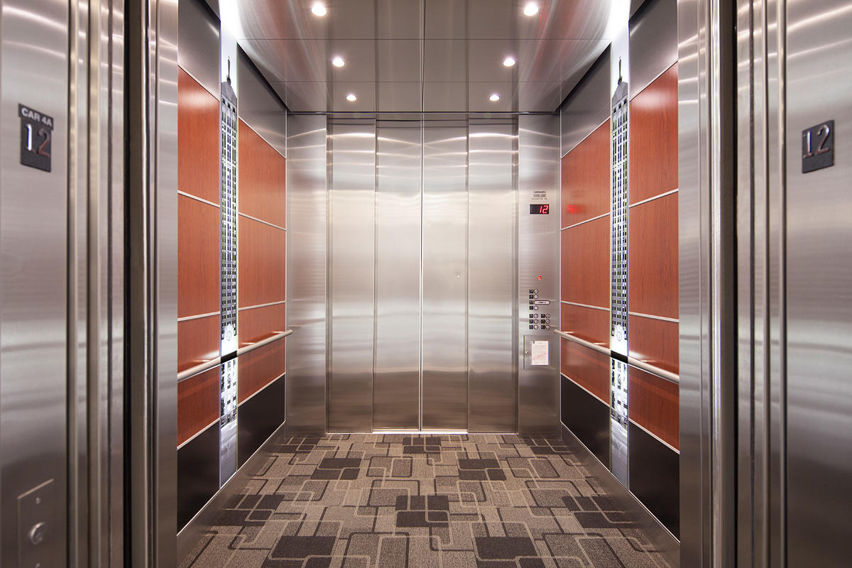 Levele 107 Elevator Interiors Architectural Forms Surfaces