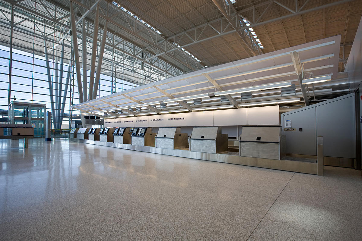Indianapolis International Airport Forms Surfaces