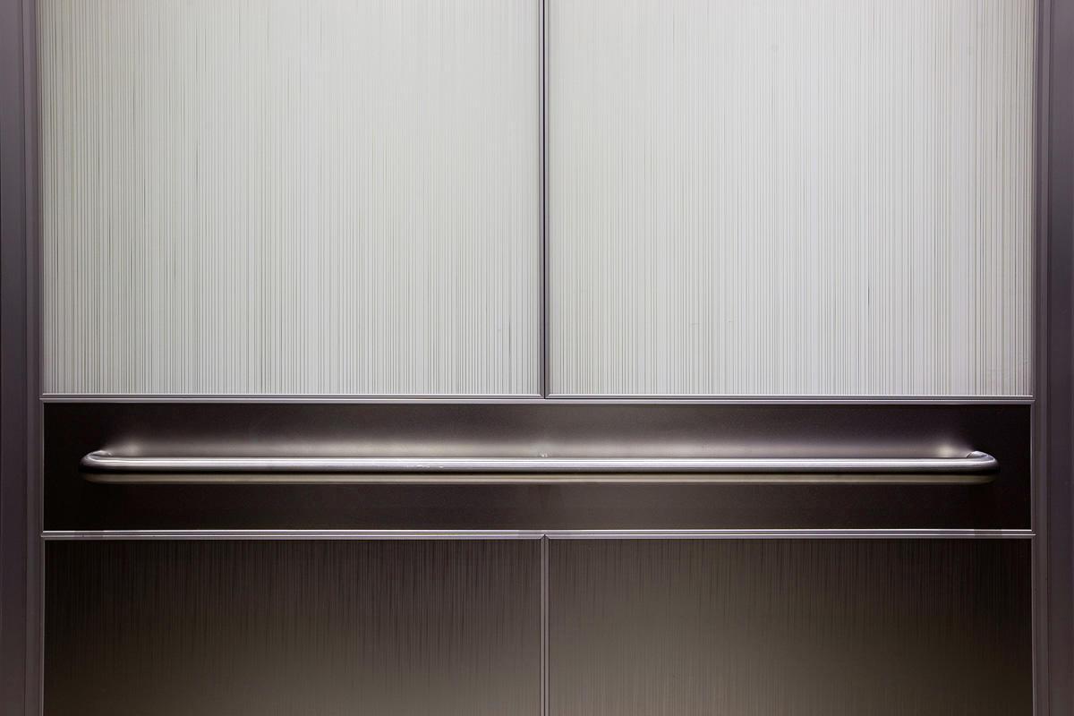 Elevator Handrails on Interior Design Portfolio Case
