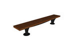 Pacifica Bench, 8 foot, backless, surface mount