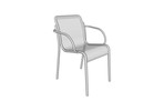Vista Chair with arms