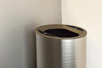 Orbit Litter & Recycling Receptacle, single-stream, Seastone Stainless Steel