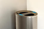 Orbit Litter & Recycling Receptacle, split-stream, Seastone Stainless Steel