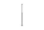 Light Column Pedestrian Lighting, series 600, 180 degree perforated shield